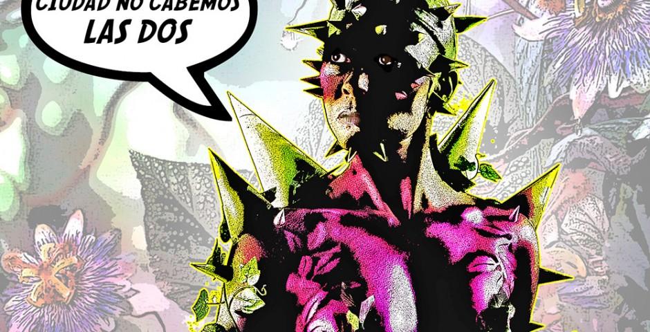 Body paint - Superhéroe comic