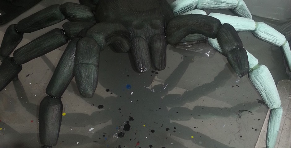 Body paint - Araña