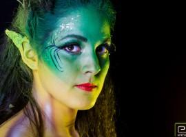 Body paint - Ninfa de Otoño