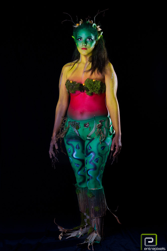 Body paint – Ninfa de Otoño | Laura Díaz-Salazar - Maquilladora ...