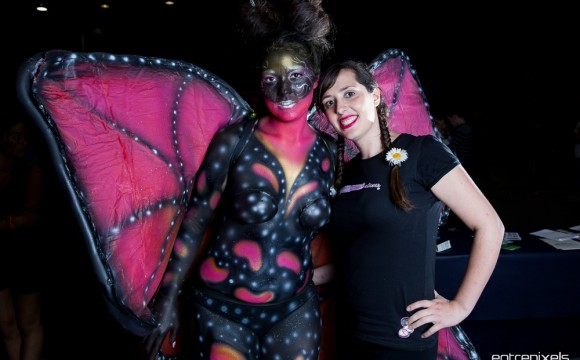 Body paint - Mariposa