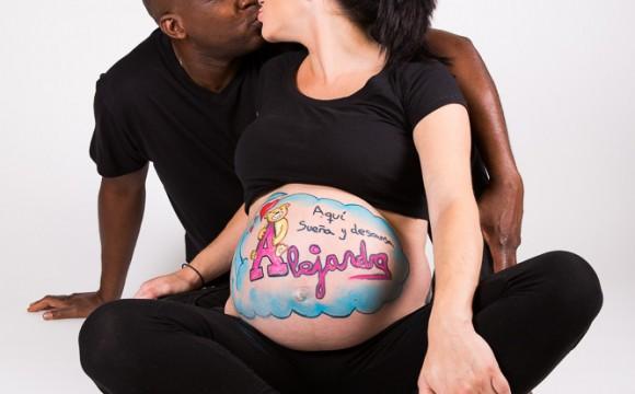 Sesión embarazada - Andrea